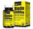 JW중외제약, 탈모 건강기능식품'비오틴5000'출시
